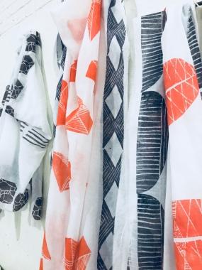 Block Printed fabric