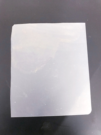Plastic imaging template